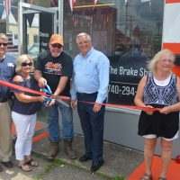 Ribbon cutting held at Conkle's new shop