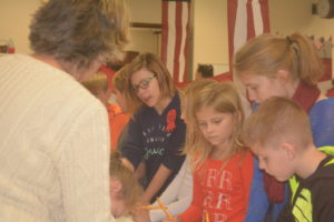 Students at Coshocton Elementary School participated in a mock election on Tuesday, Nov. 8 in which all Coshocton elementary students had the option to vote. Beth Scott | Beacon