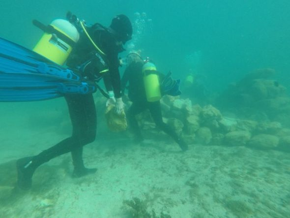 Sydney Ringenberg recently traveled to Madagascar to work as a dive master and research assistant intern.