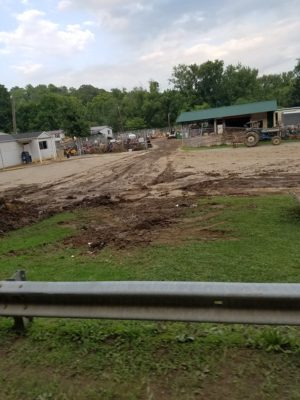 Here is a picture of flood damage in West Virginia that Shawn Dostie took when he and Adrian Padilla delivered a box truck full of supplies to the flood victims down there. Contributed   Beacon