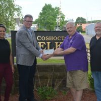 Elks Lodge donates $10,800 to Echoing Hills