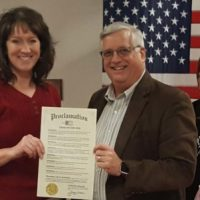 Equal Pay Day proclamation received