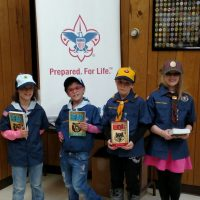 Local girls join Cub Scouts