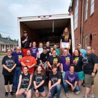 Churches unite to help tornado victims