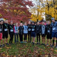 RVHS cross country team supports Habitat race
