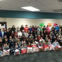 CES fifth grade students help homeless children
