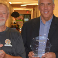 Oster, McCarty presented with awards