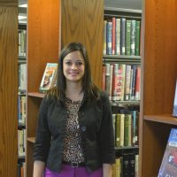Austin enjoys library job and community activities