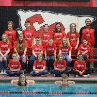 Middle school swimmers wrapping up season