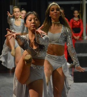 Dancers poured their heart and soul into a special tribute for Becky Lowe called By the Grace of God during Miss Jennifer's Dance Studio's recital.  Josie Sellers   Beacon
