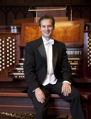 Organist: Bradley Hunter Welch will perform at the Coshocton Presbyterian Church on its Taylor and Boody Tracker organ at 3 p.m. Sunday, May 3. Photo contributed to The Beacon