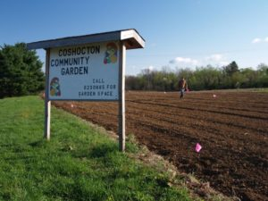 The Coshocton Community Garden is starting back up this year. Planters can call 740-623-0685 to reserve your plots.