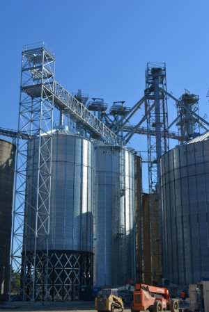 Rebuild: It's been a long rebuilding process, but Coshocton Grain Co. is ready to start serving customers again on Thursday, Oct. 1. Beacon photo by Josie Sellers