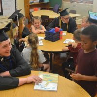 River View seniors give back to kindergarten students