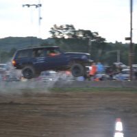 Car show and rough truck contest draws large crowd