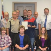 Commissioners present SWCD 75th anniversary proclamation