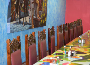 New restaurant: The new Mexican restaurant in town, Tlaquepaque, has a private room that can be used for parties or meetings. Beacon photo by Josie Sellers
