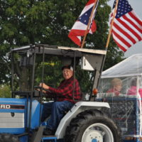 Tractor club hits the road