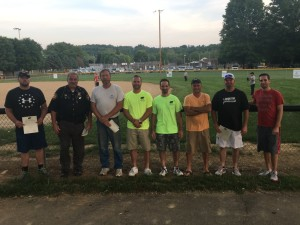 On Tuesday, May 31, numerous donors were honored for their part in providing funding and labor for new lights for Welker Field at River View Community Park. Andrew Everhart | Beacon