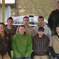 Building Trades students construct shelter