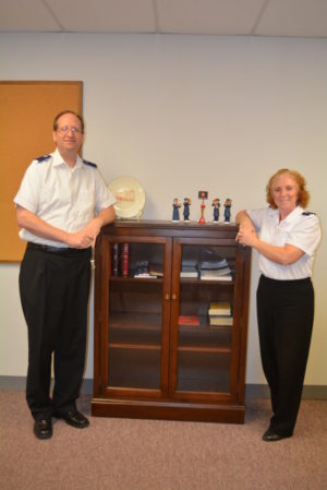 Thomas and Victoria Clark are the new envoys at Coshocton Salvation Army.