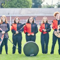 High school musicians are excited to be back on the field