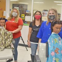 Cosmetology students spend 2 days learning from Great Clips guests