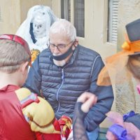 Trick-or-Treat in the village