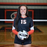 Cabot finishes senior volleyball season with 1,000 career assists