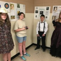 Students emulate historical person of choice