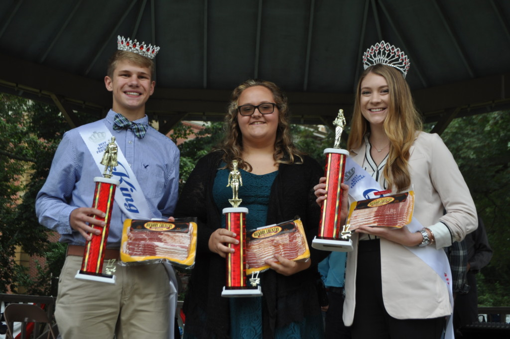 Bacon king and queen contest30