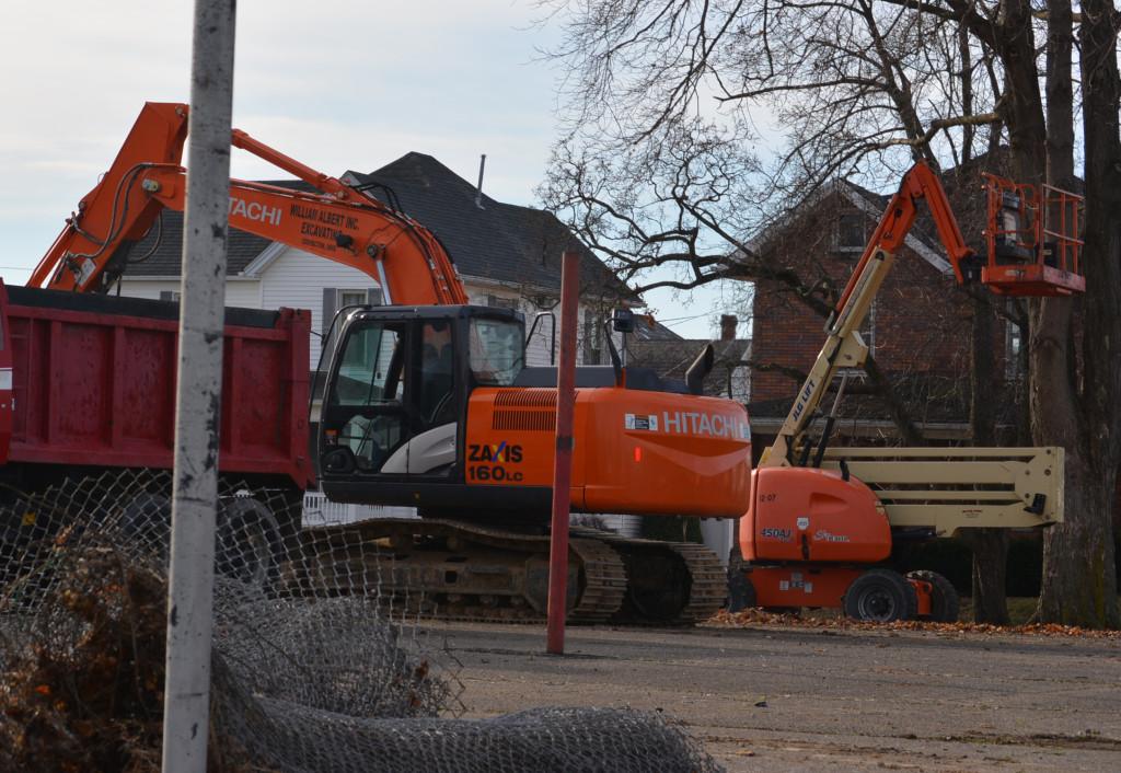 Bancroft Park tear down07