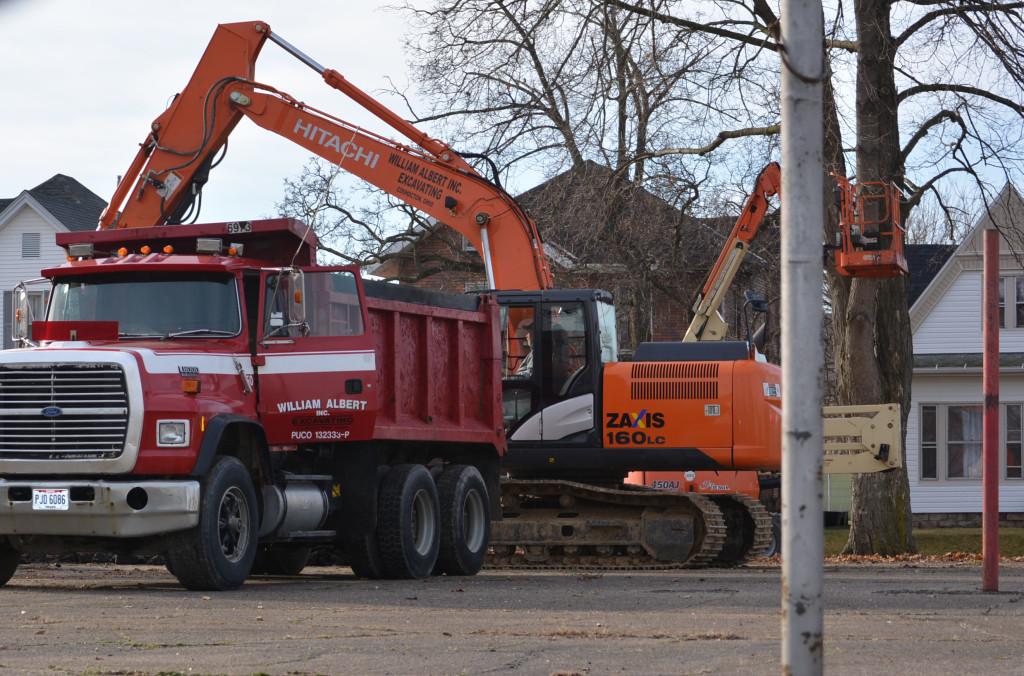 Bancroft Park tear down08
