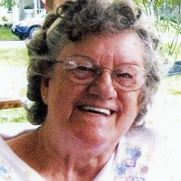 Betty Everhart Picture for obit