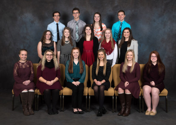 Contributed | Beacon The Coshocton County Youth Leadership Class of 2017 included, from left, row one - Mattie Harrison, Hallee Anderson, Maddie Miller, Hannah Frank, Ashley Roahrig,             Milena Cognion; middle row - Celeste Vanfossen, Elle Coffman, Elizabeth Porteus, Erica Schwartz, Tara Salmans; and back row - Sawyer Neal, Jordan Olinger, Cassie Mladek, and Luke Brown. Contributed | Beacon