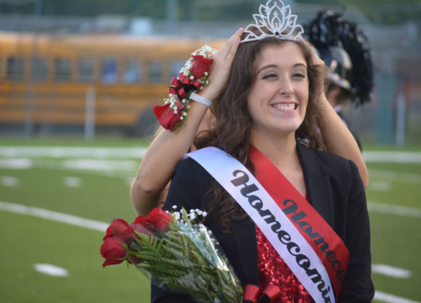 CHS 2016 homecoming queen