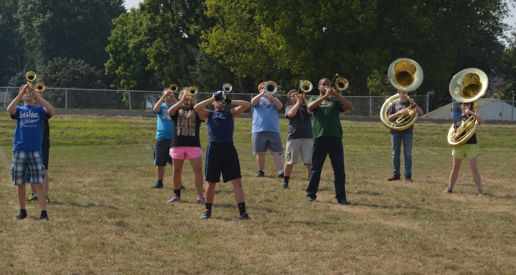CHS band practice02