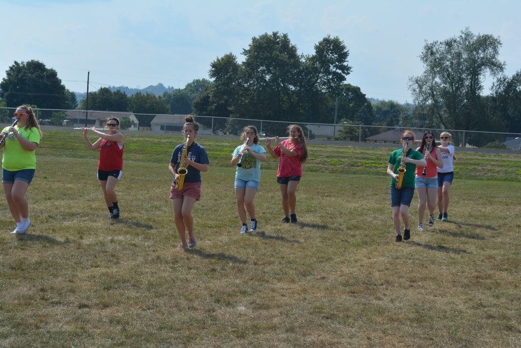 CHS band practice04