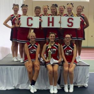 CHS cheer awards