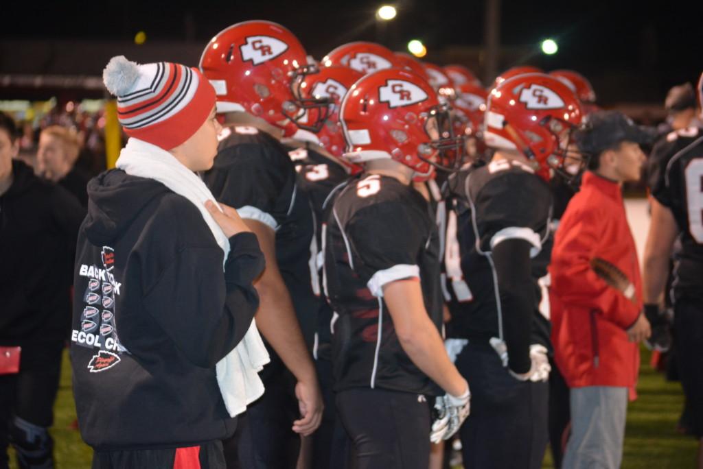 CHS vs Ironton playoff football10