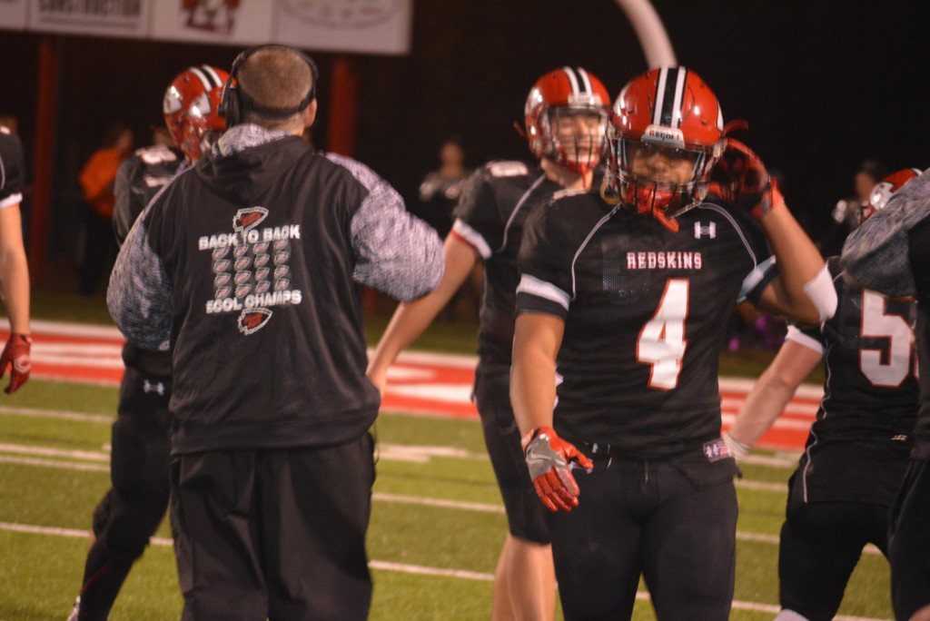 CHS vs Ironton playoff football25