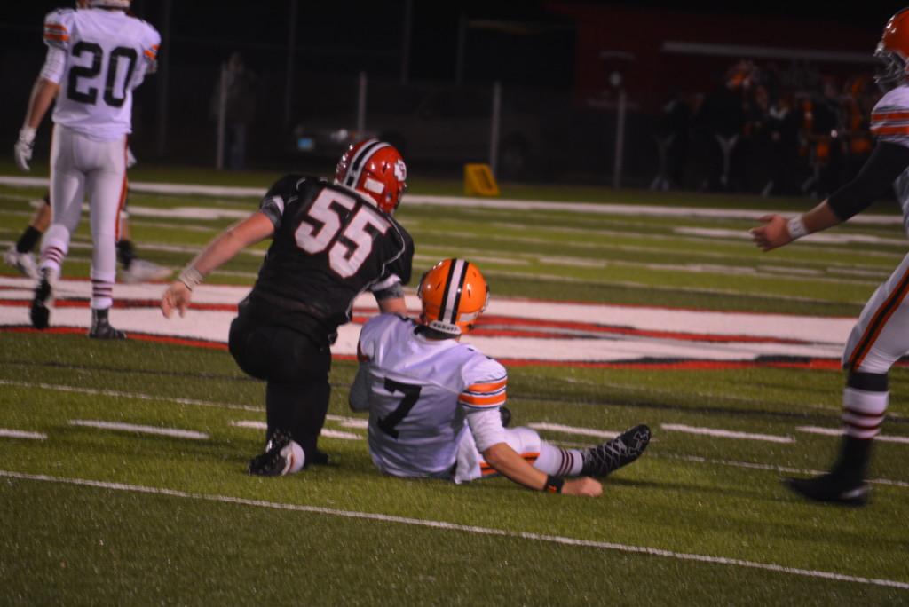 CHS vs Ironton playoff football61