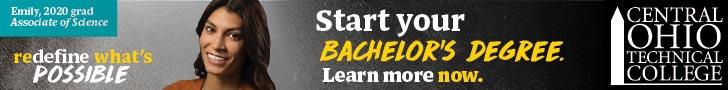 Central Ohio Technical College banner ad