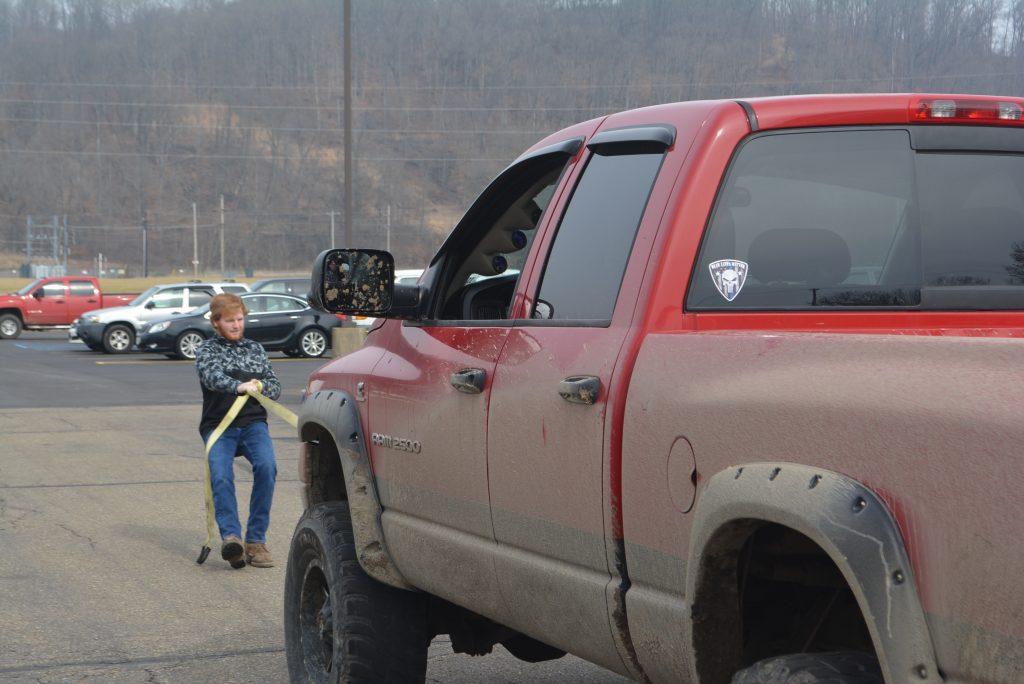 Career Center Truck Pull08