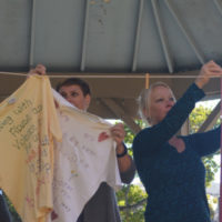 Clothesline project shares powerful message about violence