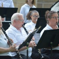 Community band provides Friday evening entertainment