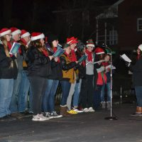 First candlelighting of the season held in Roscoe Village