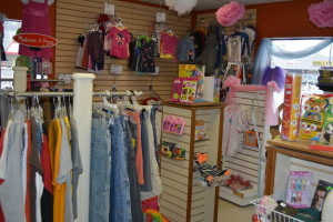 New business: Mom's Boutique opened Feb. 22, at 375 Downtowner Plaza. The grand opening will be held from 2 to 3 p.m. Saturday, March 14 with drawings for prizes and a visit from Mickey Mouse. Beacon photo by Josie Sellers