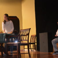 CHS students presenting 'Arsenic and Old Lace'