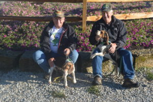 Skeeter Warner and Dave Miller brought their dogs down from Michigan to compete in the Don McVay Sr. Memorial Beagle Hunt held Sept. 9-11 at Schumaker Farms. There were competitors from numerous states in addition to Michigan including Virginia, West Virginia, North Carolina, South Carolina, Missouri, Kentucky, Maryland, Pennsylvania, New York, Indiana, Illinois and Tennessee. Josie Sellers | Beacon